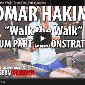 "Omar Hakim ""Walk the Walk"" Drum Part Demonstration Video"