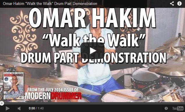 Omar Hakim Modern Drummer Features