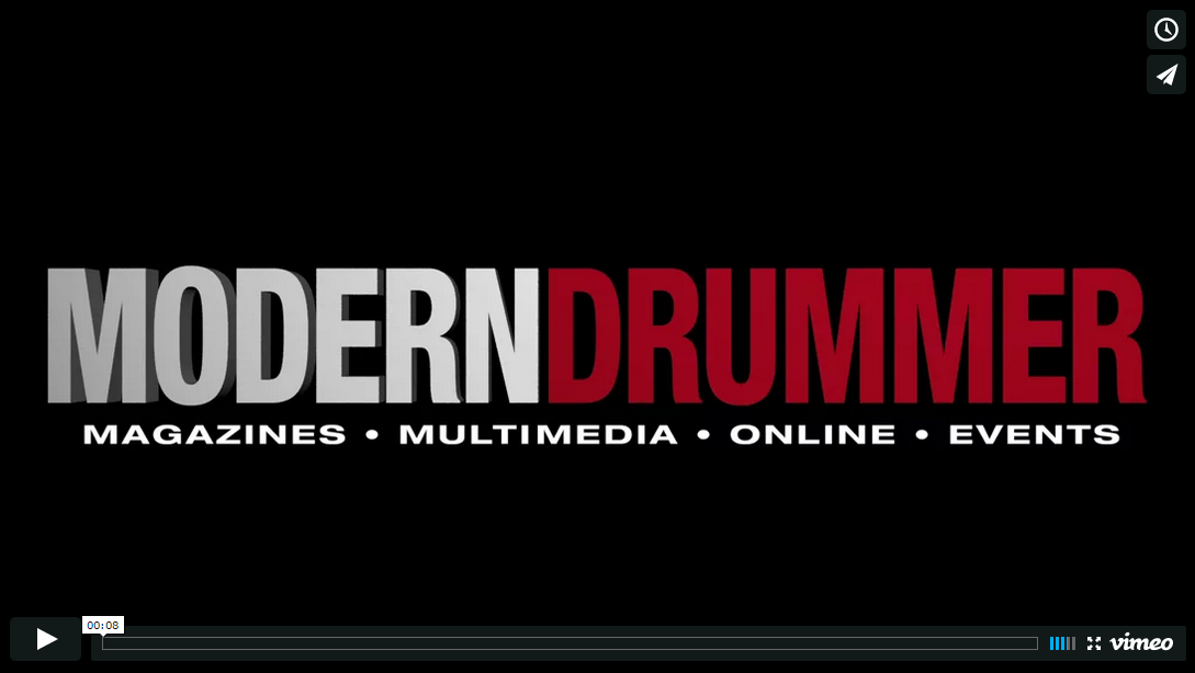 Modern Drummer Animated Intro/Outro